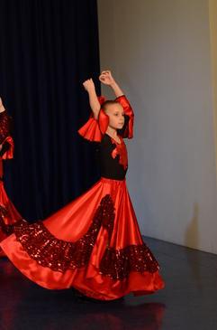 Платье для испанского танца